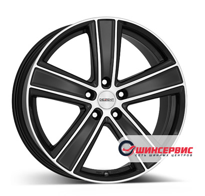 Dezent TH dark 18 / 8.0J PCD 5x108 ET 45 ЦО 70.1